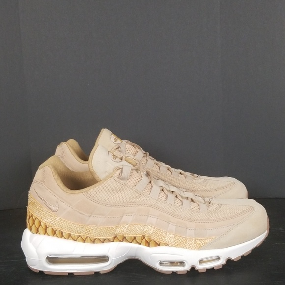 100% high quality Nike AIR MAX 95 PREMIUM Beige Shoes Low